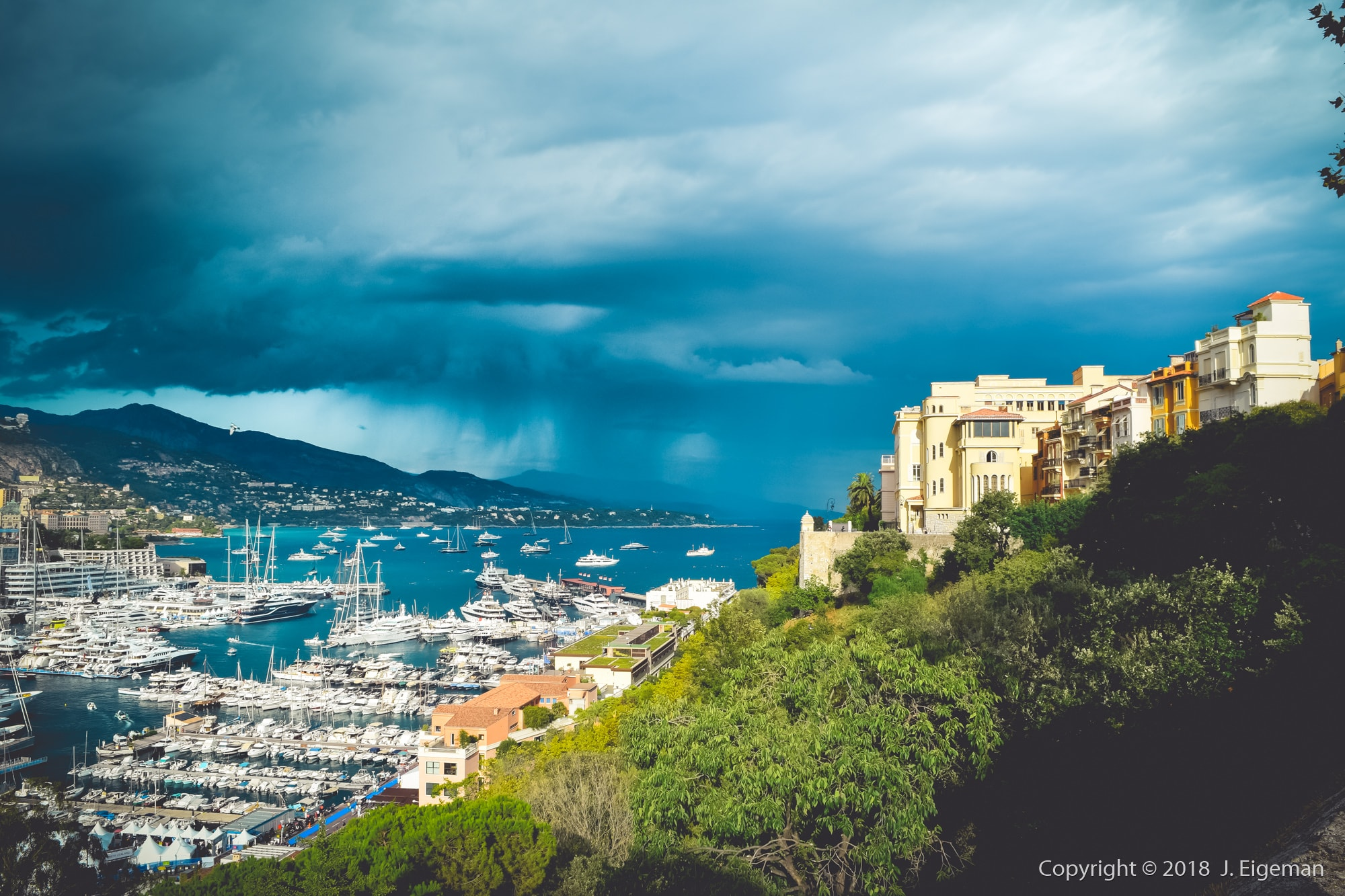 Landscape and cityscape photography Monaco