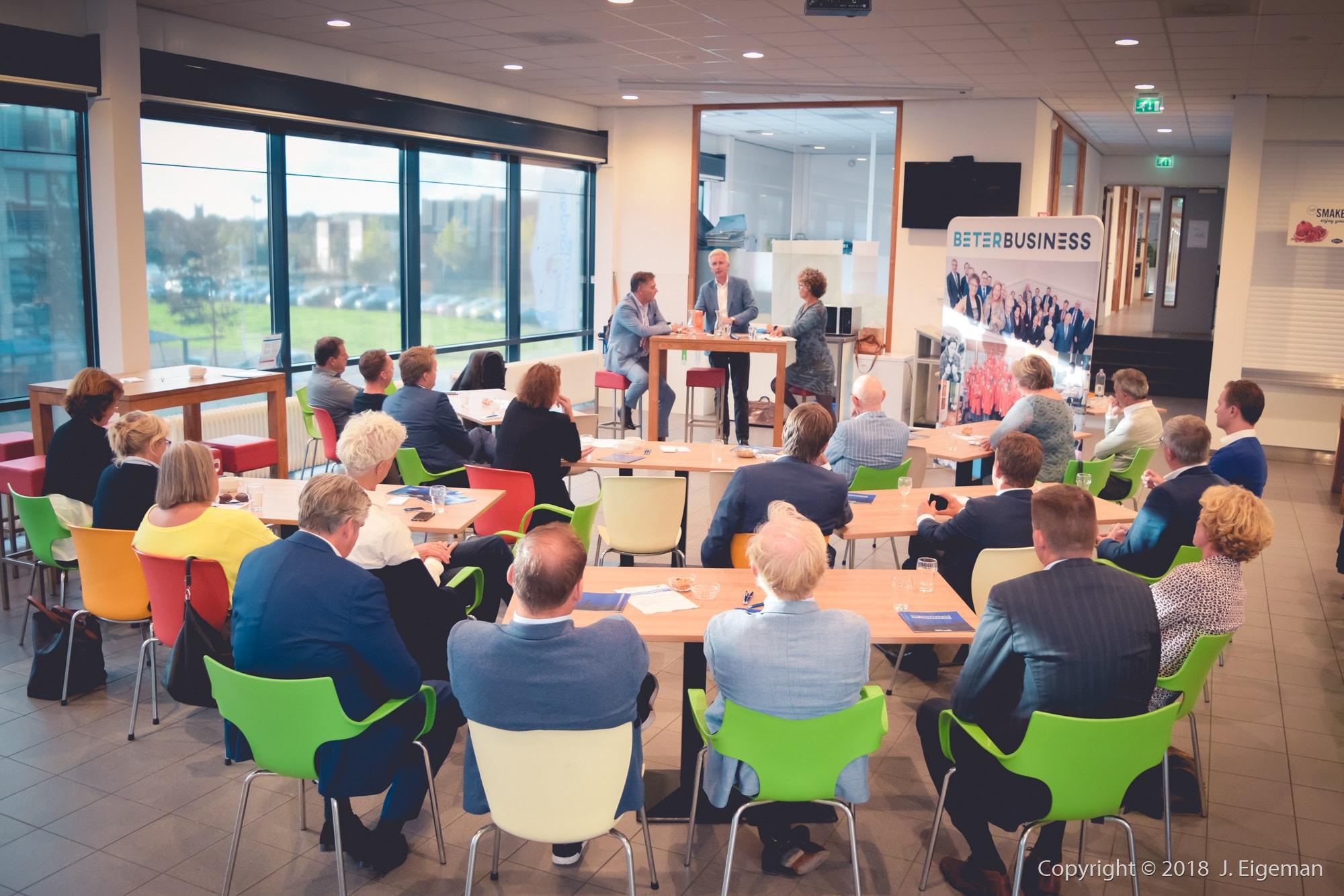 Zakelijke fotografie bijeenkomst Beter Business Spaarnelanden Haarlem (3)