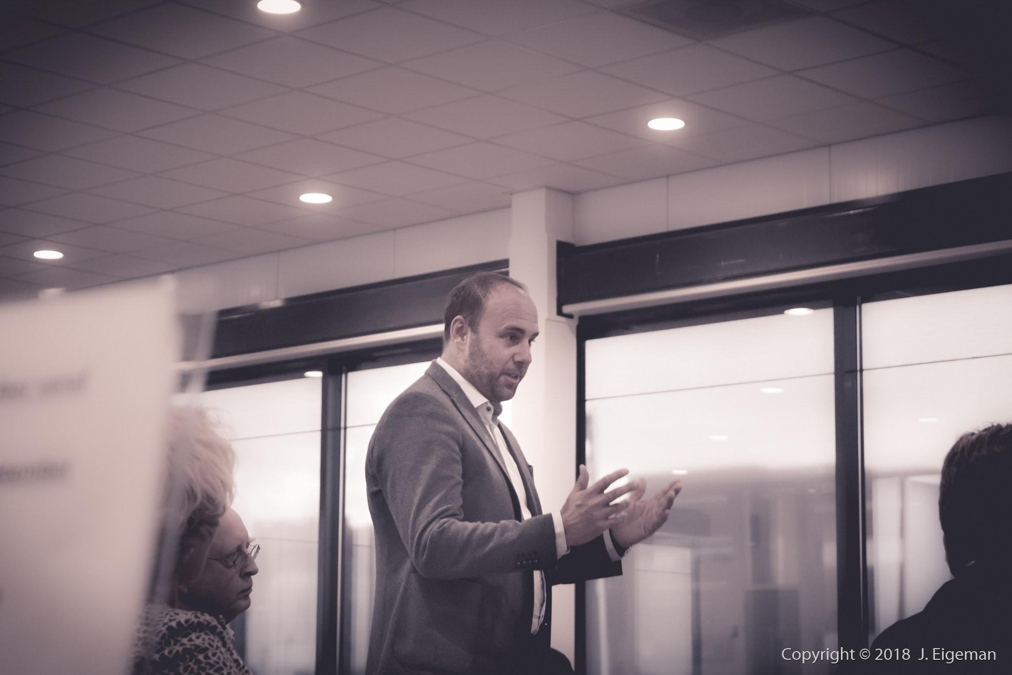Zakelijke fotografie bijeenkomst Beter Business Spaarnelanden Haarlem (6)